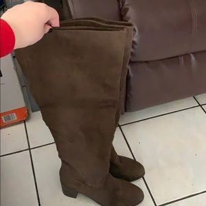 Brand new JustFab over the knee boots